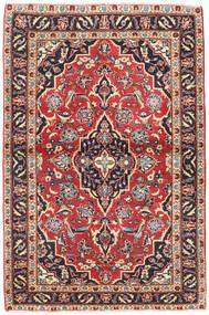 Keshan Patina Teppe 98X150 Ekte Orientalsk Håndknyttet Mørk Grå/Mørk Rød (Ull, Persia/Iran)