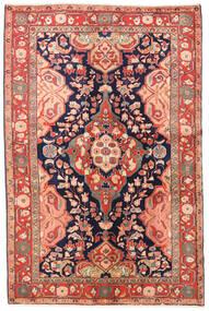Jozan Teppe 135X203 Ekte Orientalsk Håndknyttet Rust/Beige (Ull, Persia/Iran)