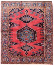 Wiss Teppe 188X225 Ekte Orientalsk Håndknyttet Brun/Svart (Ull, Persia/Iran)