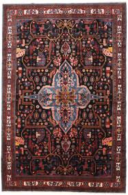 Nahavand Teppe 277X420 Ekte Orientalsk Håndknyttet Mørk Rød/Mørk Brun Stort (Ull, Persia/Iran)