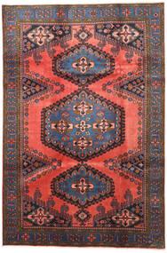 Wiss Teppe 210X315 Ekte Orientalsk Håndknyttet Mørk Rød/Mørk Grå (Ull, Persia/Iran)