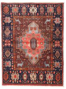 Gholtogh Teppe 108X144 Ekte Orientalsk Håndknyttet Mørk Rød/Mørk Brun (Ull, Persia/Iran)