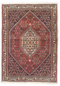 Bidjar Teppe 88X120 Ekte Orientalsk Håndknyttet Mørk Brun/Mørk Rød (Ull, Persia/Iran)