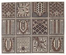 Bakhtiar Patina Teppe 85X102 Ekte Orientalsk Håndknyttet Lys Grå/Mørk Brun (Ull, Persia/Iran)