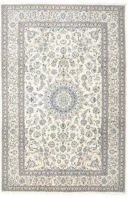Nain Teppe 242X365 Ekte Orientalsk Håndknyttet Beige/Lys Grå (Ull, Persia/Iran)