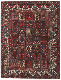 Bakhtiar Patina Teppe 243X315 Ekte Orientalsk Håndknyttet Mørk Rød/Svart (Ull, Persia/Iran)