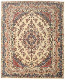 Hamadan Patina Teppe 318X395 Ekte Orientalsk Håndknyttet Mørk Grå/Mørk Beige Stort (Ull, Persia/Iran)