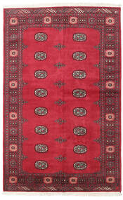 Pakistan Bokhara 2Ply Teppe 139X210 Ekte Orientalsk Håndknyttet Rød/Rust (Ull, Pakistan)