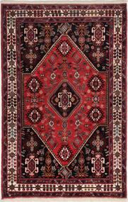 Gabbeh Kashkooli Teppe 83X125 Ekte Moderne Håndknyttet Mørk Rød/Mørk Brun (Ull, Persia/Iran)