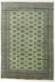Pakistan Bokhara 2Ply Teppe 244X355 Ekte Orientalsk Håndknyttet Mørk Grå/Olivengrønn (Ull, Pakistan)
