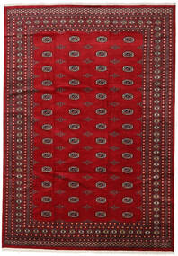 Pakistan Bokhara 2Ply Teppe 246X352 Ekte Orientalsk Håndknyttet Rød/Mørk Rød (Ull, Pakistan)