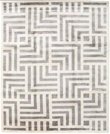 Maze Teppe 250X300 Ekte Moderne Håndknyttet Beige/Lys Grå Stort ( India)