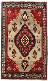 Ghashghai Teppe 127X214 Ekte Orientalsk Håndknyttet Mørk Rød/Mørk Brun (Ull, Persia/Iran)