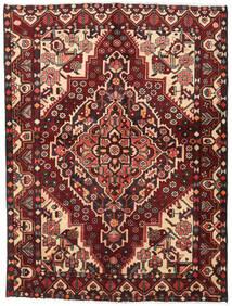 Bakhtiar Teppe 156X207 Ekte Orientalsk Håndknyttet Mørk Rød/Mørk Brun (Ull, Persia/Iran)
