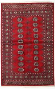 Pakistan Bokhara 2Ply Teppe 138X210 Ekte Orientalsk Håndknyttet Mørk Rød/Rød (Ull, Pakistan)