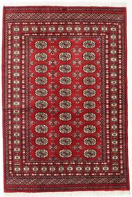 Pakistan Bokhara 2Ply Teppe 125X185 Ekte Orientalsk Håndknyttet Mørk Rød (Ull, Pakistan)