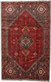 Shiraz Teppe 174X269 Ekte Orientalsk Håndknyttet Mørk Rød/Mørk Brun (Ull, Persia/Iran)