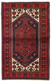 Hamadan Teppe 100X160 Ekte Orientalsk Håndknyttet Mørk Rød/Mørk Brun (Ull, Persia/Iran)
