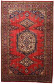 Wiss Teppe 215X340 Ekte Orientalsk Håndknyttet Mørk Rød/Rust (Ull, Persia/Iran)