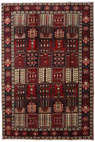 Bakhtiar Teppe 205X303 Ekte Orientalsk Håndknyttet Mørk Brun/Mørk Rød (Ull, Persia/Iran)