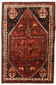 Ghashghai Teppe 174X261 Ekte Orientalsk Håndknyttet Mørk Brun/Mørk Rød (Ull, Persia/Iran)
