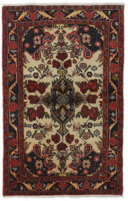 Mehraban Teppe 83X129 Ekte Orientalsk Håndknyttet Mørk Rød/Mørk Brun (Ull, Persia/Iran)