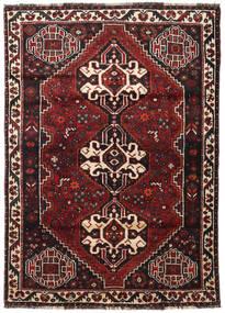Shiraz Teppe 117X166 Ekte Orientalsk Håndknyttet Mørk Rød/Svart (Ull, Persia/Iran)