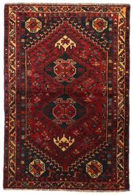 Ghashghai Teppe 113X166 Ekte Orientalsk Håndknyttet Mørk Rød/Mørk Brun (Ull, Persia/Iran)