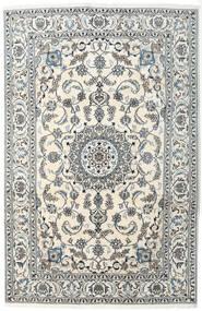 Nain Teppe 200X300 Ekte Orientalsk Håndknyttet Mørk Grå/Beige/Lys Grå (Ull, Persia/Iran)