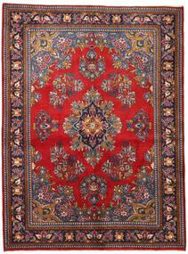 Wiss Teppe 165X225 Ekte Orientalsk Håndknyttet Mørk Lilla/Mørk Rød (Ull, Persia/Iran)