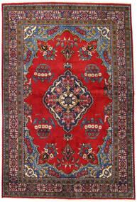 Wiss Teppe 160X240 Ekte Orientalsk Håndknyttet Mørk Grå/Mørk Rød (Ull, Persia/Iran)