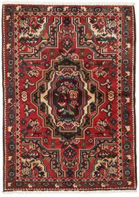 Bakhtiar Teppe 103X145 Ekte Orientalsk Håndknyttet Mørk Brun/Mørk Rød (Ull, Persia/Iran)