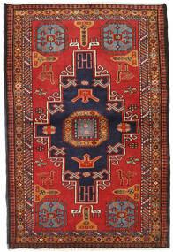 Ardebil Teppe 110X167 Ekte Orientalsk Håndknyttet Mørk Rød/Rust (Ull, Persia/Iran)