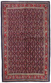 Mahal Teppe 135X218 Ekte Orientalsk Håndknyttet Mørk Lilla/Lys Grå (Ull, Persia/Iran)