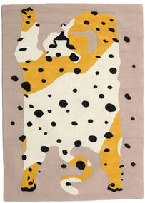The Spotty Cat - Beige/Multi Teppe 160X230 Moderne Beige/Lysbrun (Ull, India)