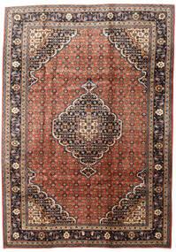 Ardebil Teppe 200X284 Ekte Orientalsk Håndknyttet Mørk Brun/Mørk Rød (Ull, Persia/Iran)