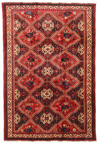Ghashghai Teppe 197X292 Ekte Orientalsk Håndknyttet Mørk Rød/Rust (Ull, Persia/Iran)