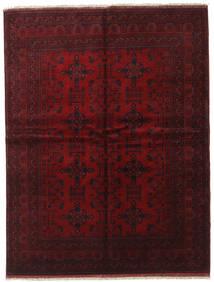 Afghan Khal Mohammadi Teppe 175X228 Ekte Orientalsk Håndknyttet Mørk Rød (Ull, Afghanistan)