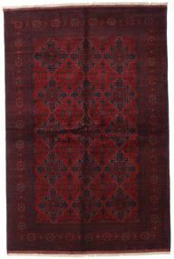 Afghan Khal Mohammadi Teppe 169X252 Ekte Orientalsk Håndknyttet Mørk Rød (Ull, Afghanistan)