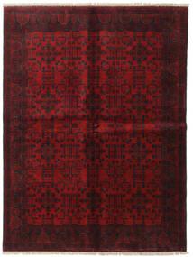 Afghan Khal Mohammadi Teppe 173X231 Ekte Orientalsk Håndknyttet Mørk Rød/Mørk Brun (Ull, Afghanistan)