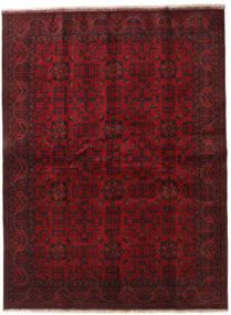 Afghan Khal Mohammadi Teppe 173X229 Ekte Orientalsk Håndknyttet Mørk Rød/Mørk Brun (Ull, Afghanistan)
