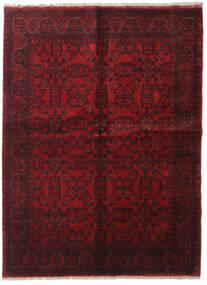 Afghan Khal Mohammadi Teppe 198X289 Ekte Orientalsk Håndknyttet Mørk Rød/Mørk Brun (Ull, Afghanistan)