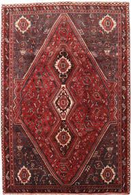 Ghashghai Teppe 189X278 Ekte Orientalsk Håndknyttet Mørk Rød/Mørk Brun (Ull, Persia/Iran)