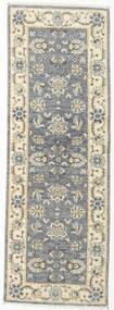 Ziegler Ariana Teppe 61X180 Ekte Orientalsk Håndknyttet Teppeløpere Lys Grå/Beige (Ull, Afghanistan)