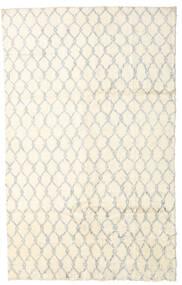 Moroccan Berber - Afganistan Teppe 175X283 Ekte Moderne Håndknyttet Beige/Hvit/Creme (Ull, Afghanistan)
