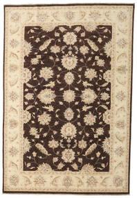 Ziegler Ariana Teppe 197X290 Ekte Orientalsk Håndknyttet Beige/Mørk Brun (Ull, Afghanistan)