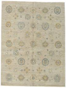 Ziegler Ariana Teppe 154X203 Ekte Orientalsk Håndknyttet Mørk Beige/Olivengrønn/Lys Grå (Ull, Afghanistan)