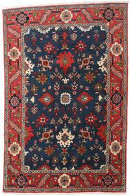 Heriz Teppe 197X300 Ekte Orientalsk Håndknyttet Mørk Blå/Mørk Grå (Ull, Persia/Iran)