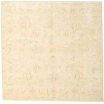 Ziegler Ariana Teppe 190X195 Ekte Orientalsk Håndknyttet Kvadratisk Beige (Ull, Afghanistan)