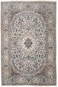 Nain Teppe 200X300 Ekte Orientalsk Håndknyttet Lys Grå/Beige (Ull, Persia/Iran)